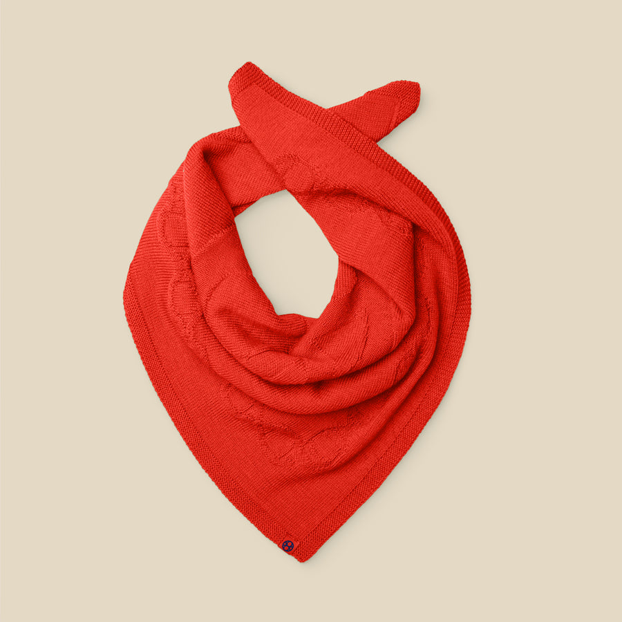 NECKERCHIEF - AN APPLE A DAY