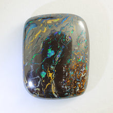 Load image into Gallery viewer, Blue, Green & Orange Solid Boulder Matrix Opal