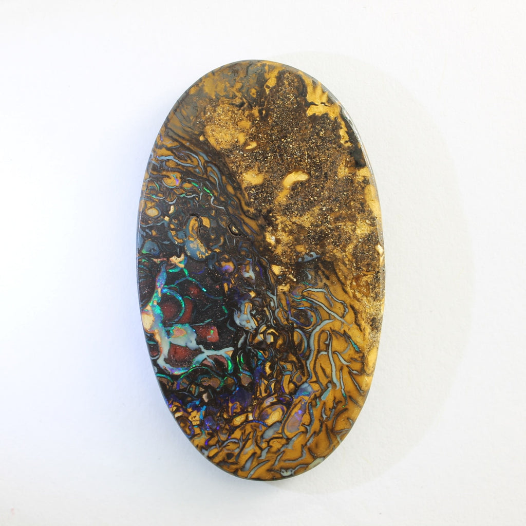 Blue, Green & Purple Solid Boulder Matrix Opal
