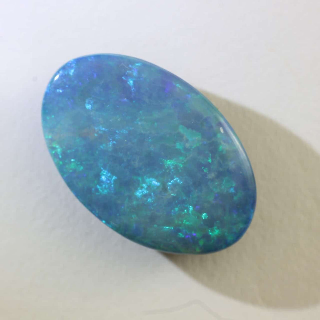 Green & Blue Doublet Opal