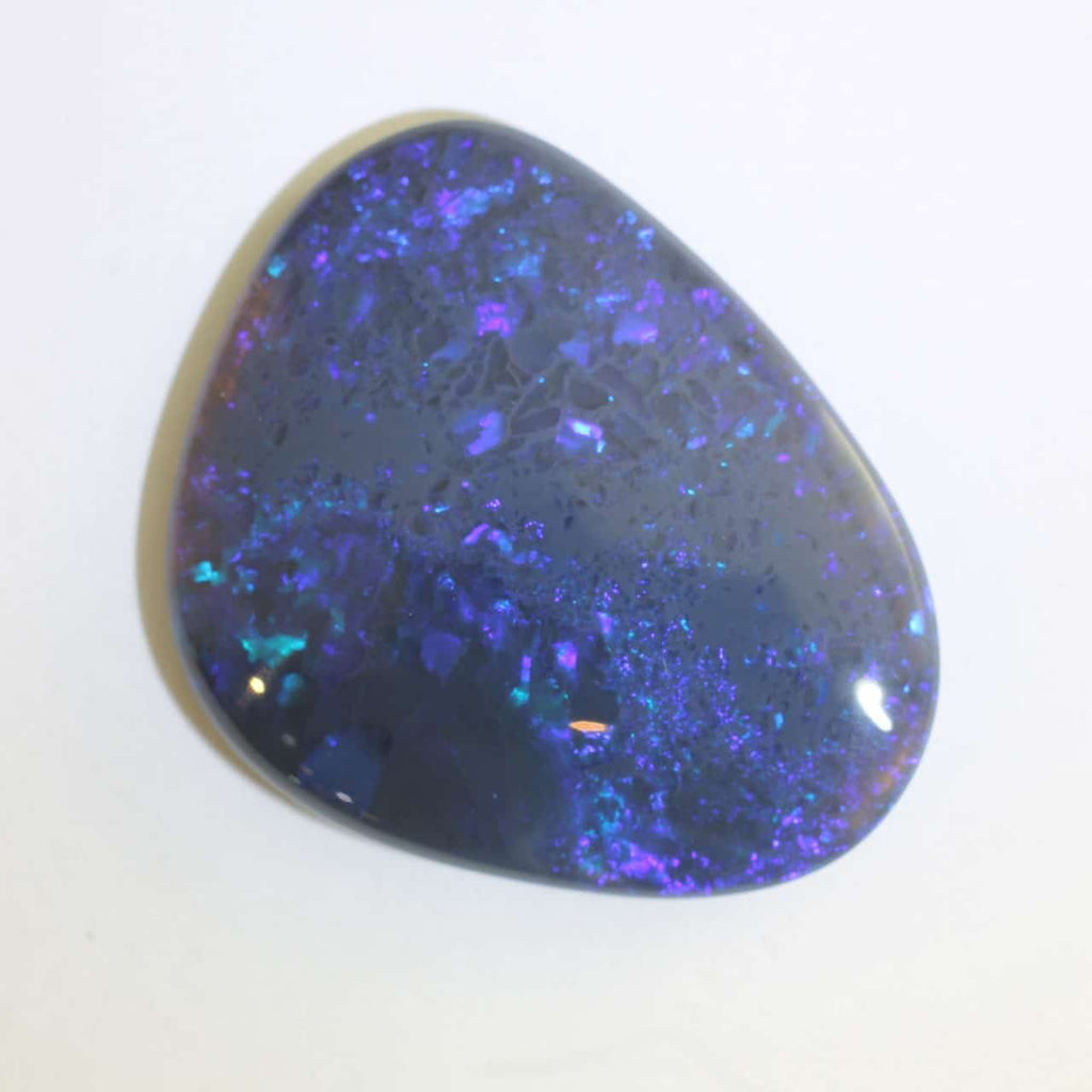 Large Blue & Green Solid Opal