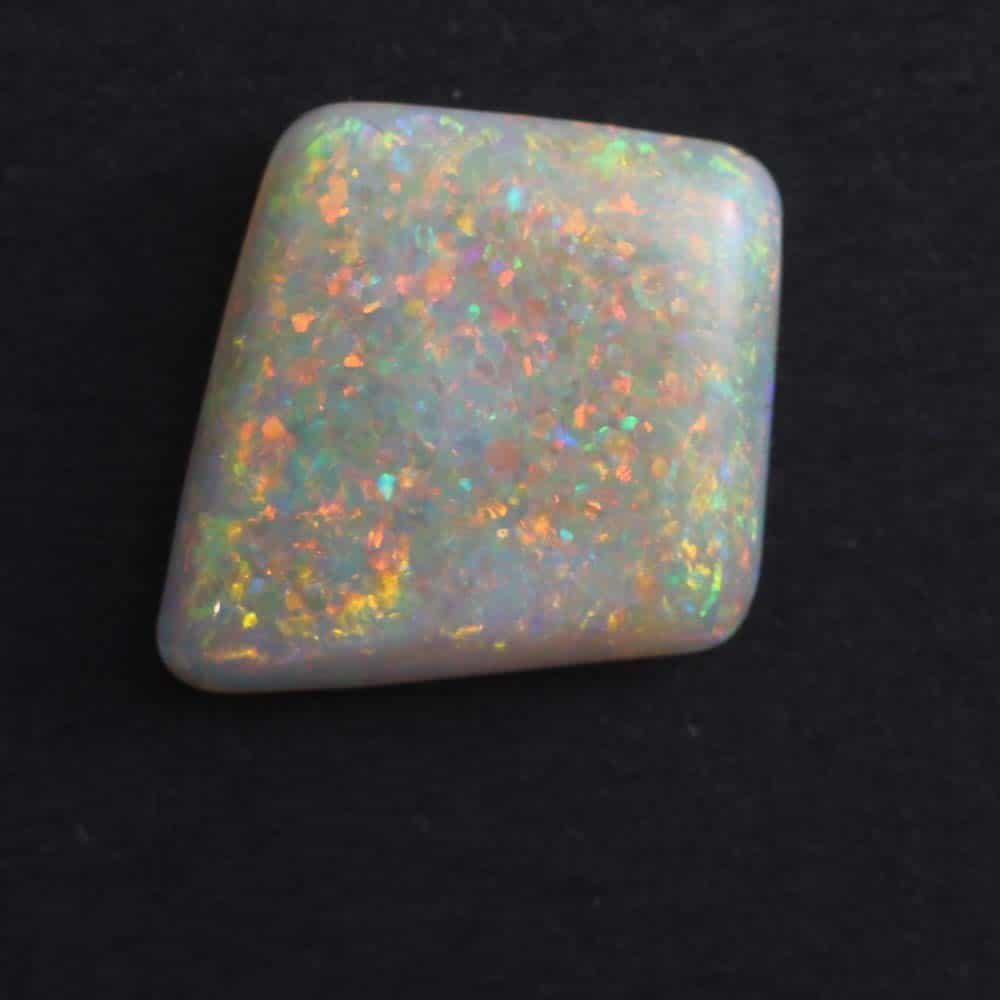 Vibrant Solid Opal with Red, Green & Blue Colours