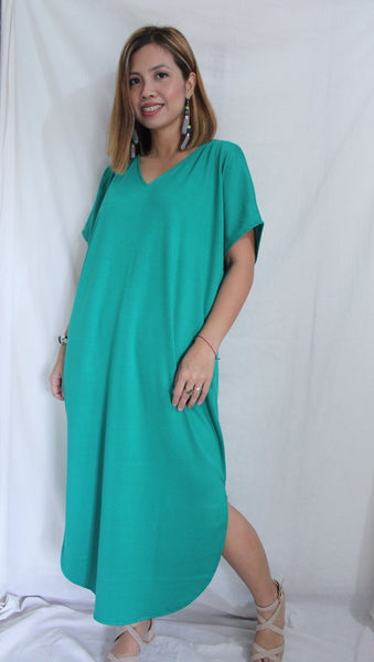 Dolphin Dress / Cotton Spanribs