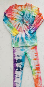 Load image into Gallery viewer, Kid Rainbow Pajamas