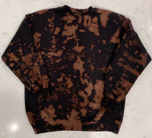 Bleached Hooded Sweatshirt