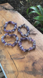 Load and play video in Gallery viewer, Beautiful Amethyst Bracelets