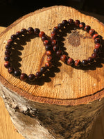 Load image into Gallery viewer, Red Tigers Bead Bracelets