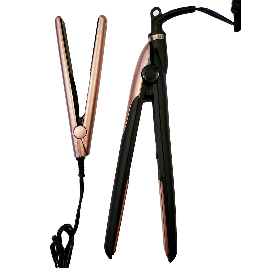 Rucci Professional Flat Iron Ceramic Tourmaline Plated(FI07)
