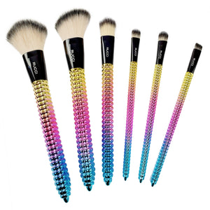 Rucci Sunset Beach Cosmetic Brush Set (6 Brushes) (CC471)