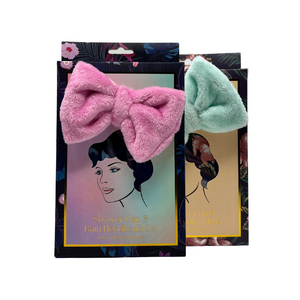 1x 5x Metal Chrome Crystal Ball Double Sided Magnifying Mini-Vanity Mirror