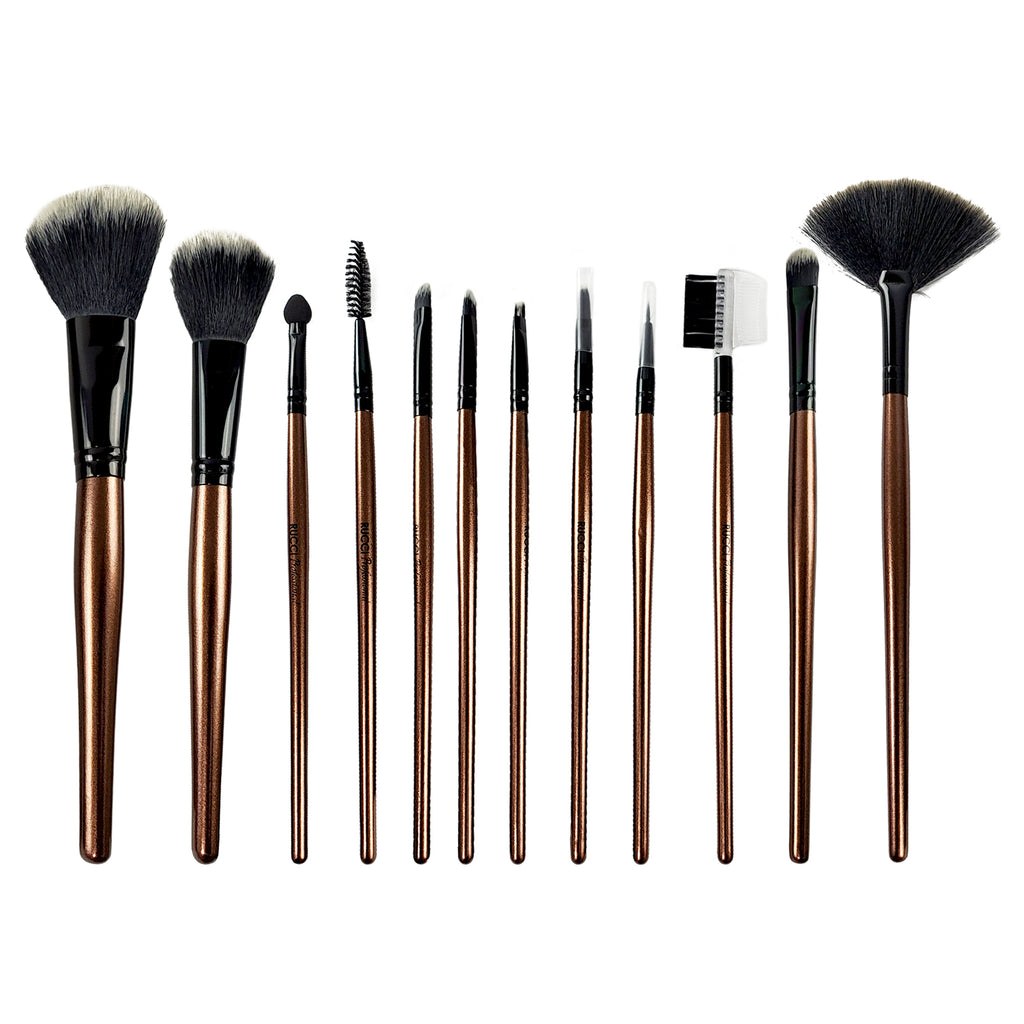 Rucci Ultimate 12 Piece Cosmetic Brush Set (CC427)