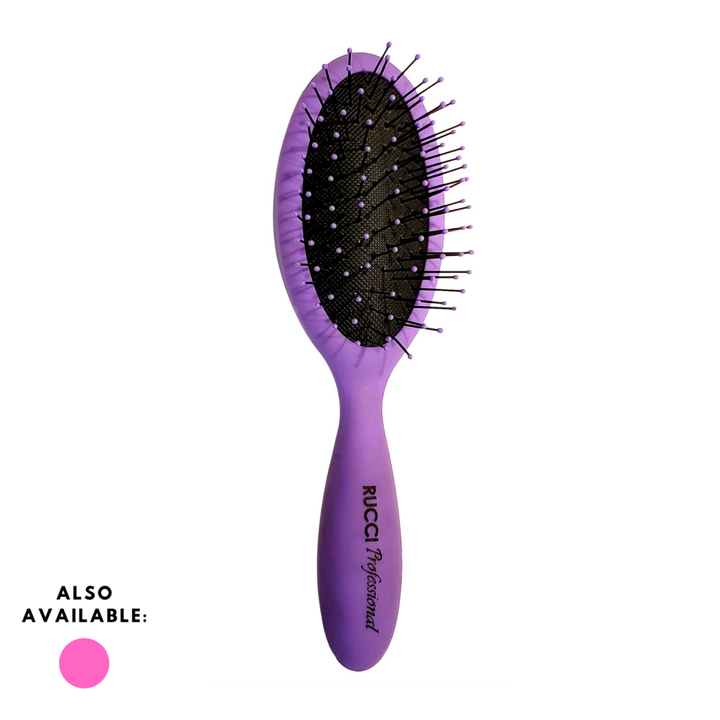 Small Oval Aqua Splash Brush (H404)