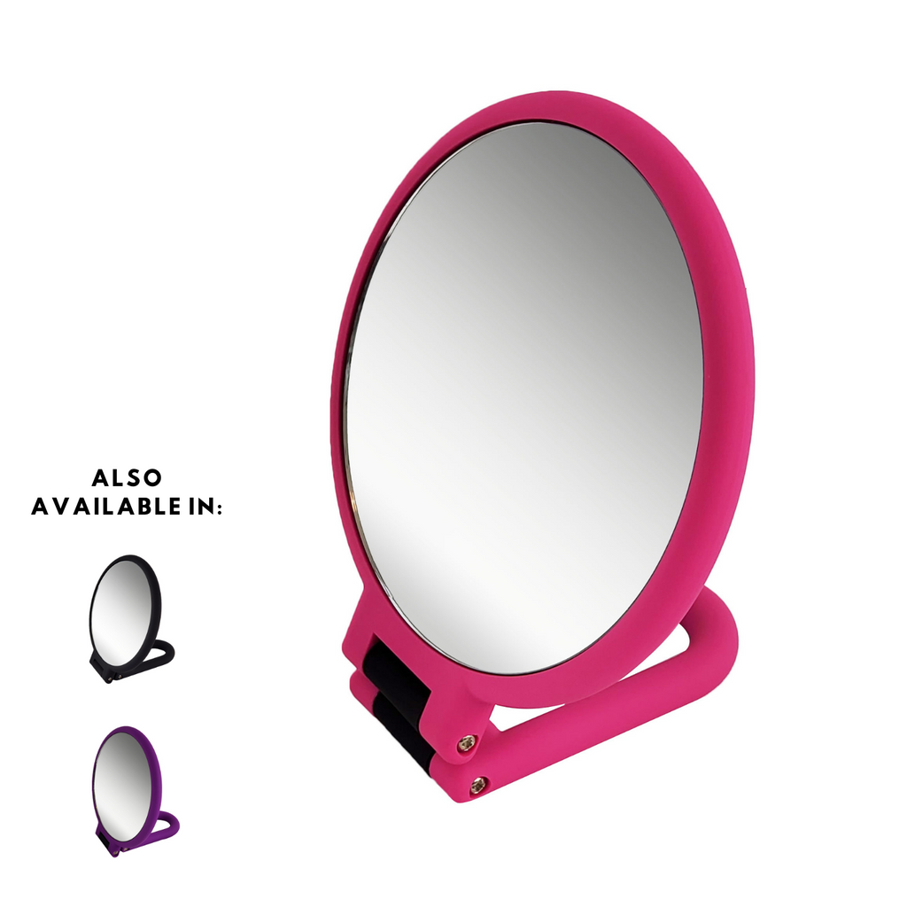 Rucci Soft Touch Magnifying Hand Mirror (M940)