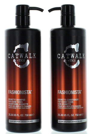 Catwalk Fashionista Brunette Shampoo and Conditioner, 25.36 Ounce Each(611282)