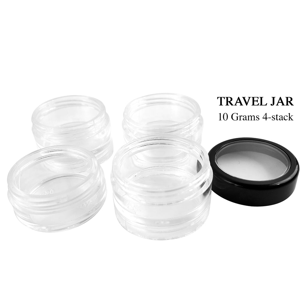 10 gram 4 Stack Travel Jar (D102)