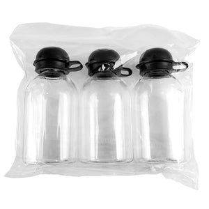 3 Piece 35cc Fliptop Bottle Set (D106)
