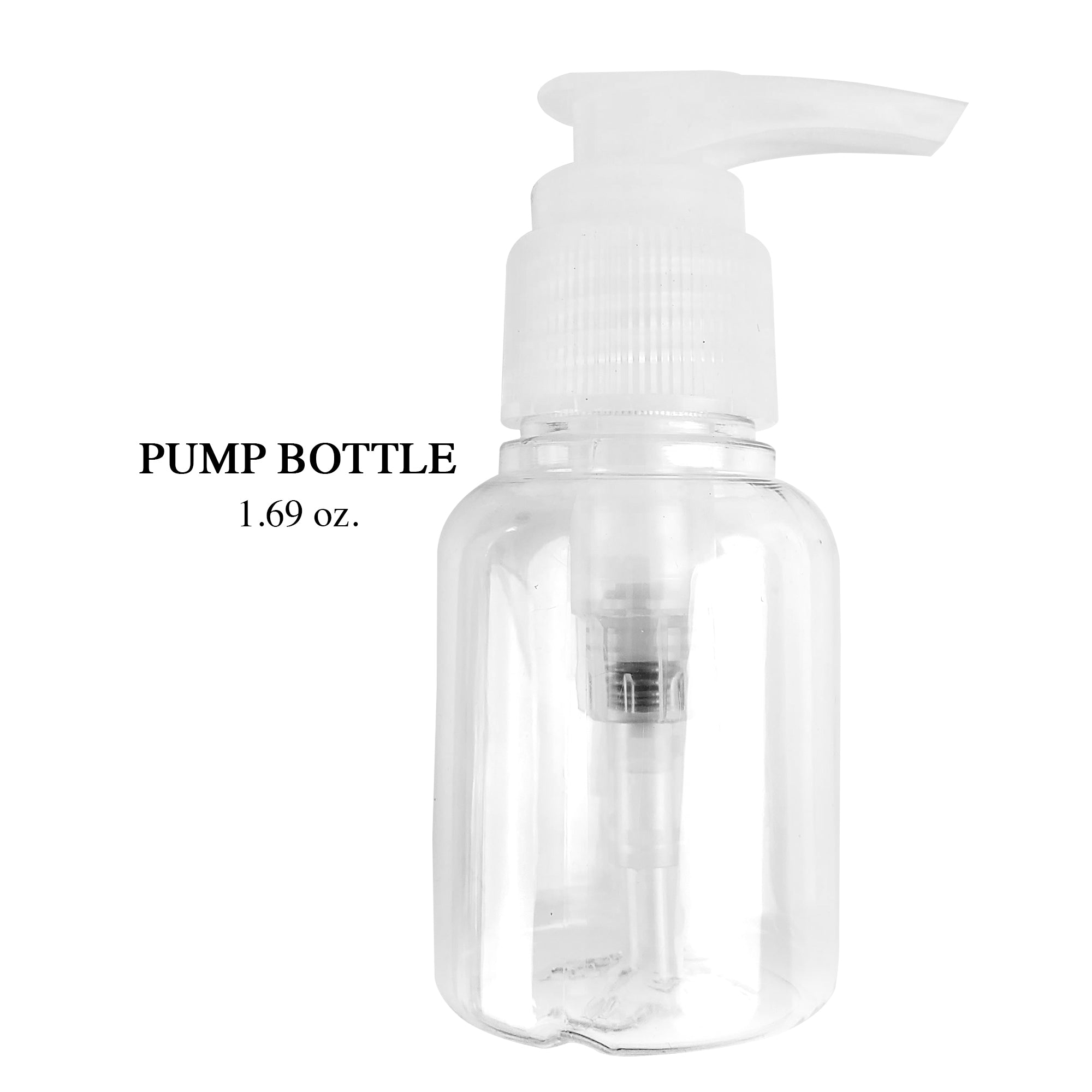 Small Pump Bottle 1.69 oz (D114)