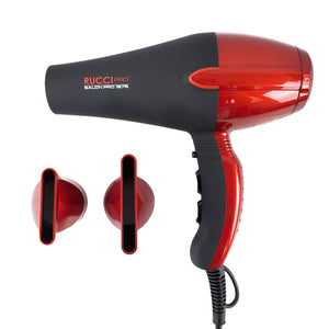 Rucci Salon Pro 1875 Hair Dryer - Red  (HD110/R)