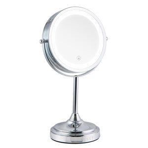 Lighted Table Top Makeup Vanity Mirror Oil-Rubbed Bronze Finish (M401)