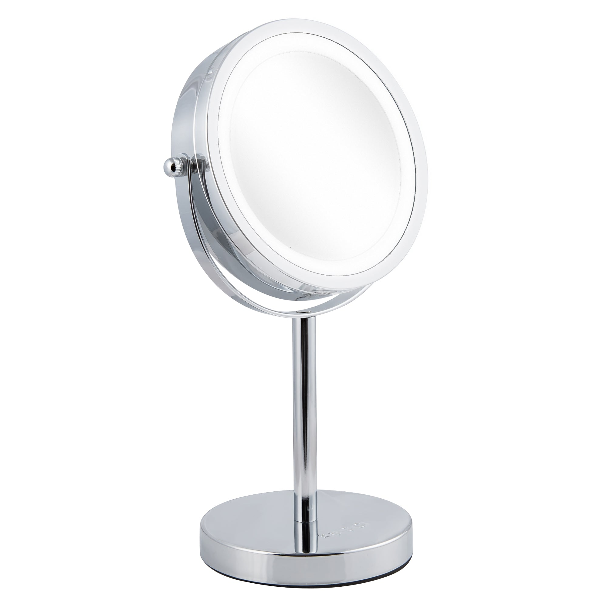 Lighted Table Top Makeup Glamour Mirror Oil-Rubbed Bronze Finish (M402)