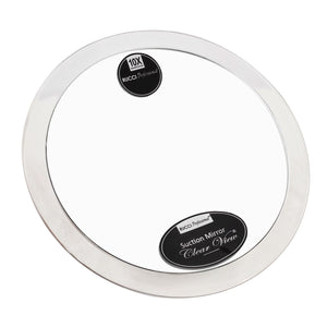 Magnifying Suction Mirror with Clear Finish (M724 / M787)