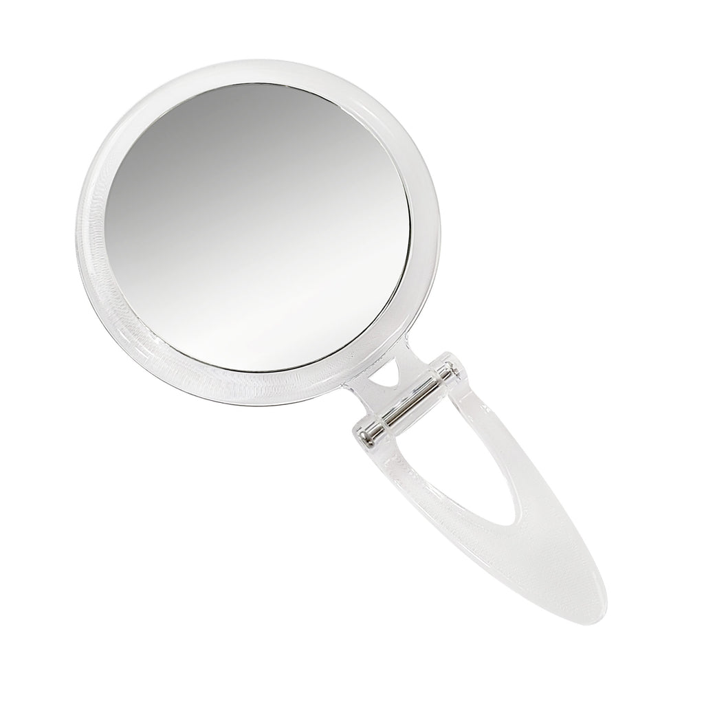Rucci Normal View Acrylic Round Foldable Stand Mirror (M800)