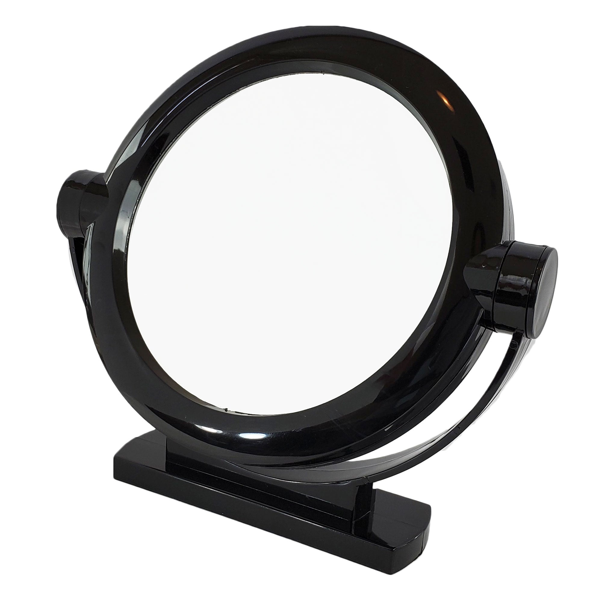 Black Large Stand Magnifying Mirror