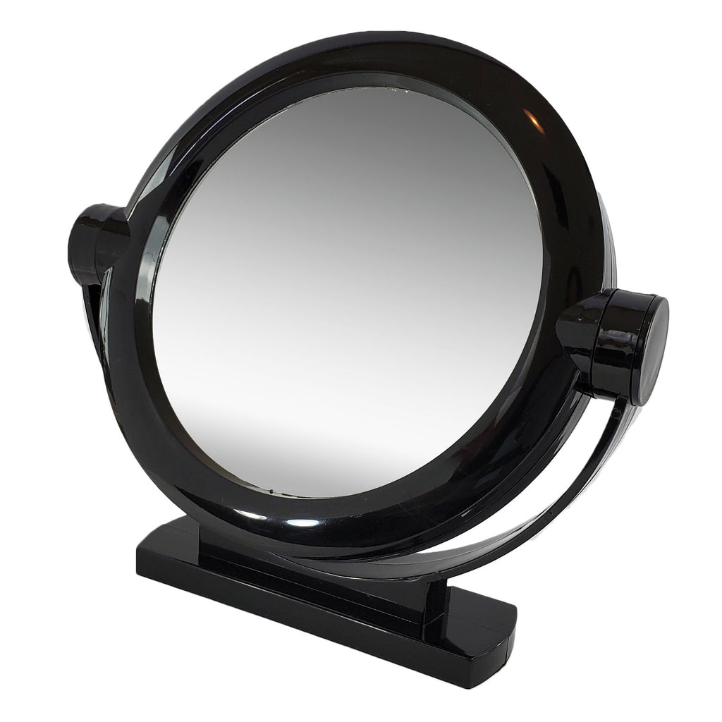 Black Large Stand Magnifying Mirror (M820/B)