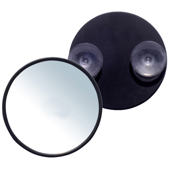 Rucci 5-Inch Round Suction Cup 12X Magnification Mirror (M870)