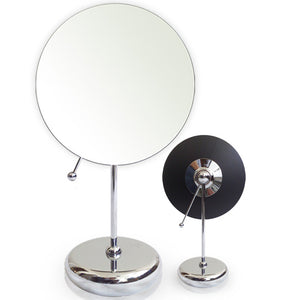 Rucci Table Top, Wall Mount, Suction Magnifying Makeup Mirror (M875)