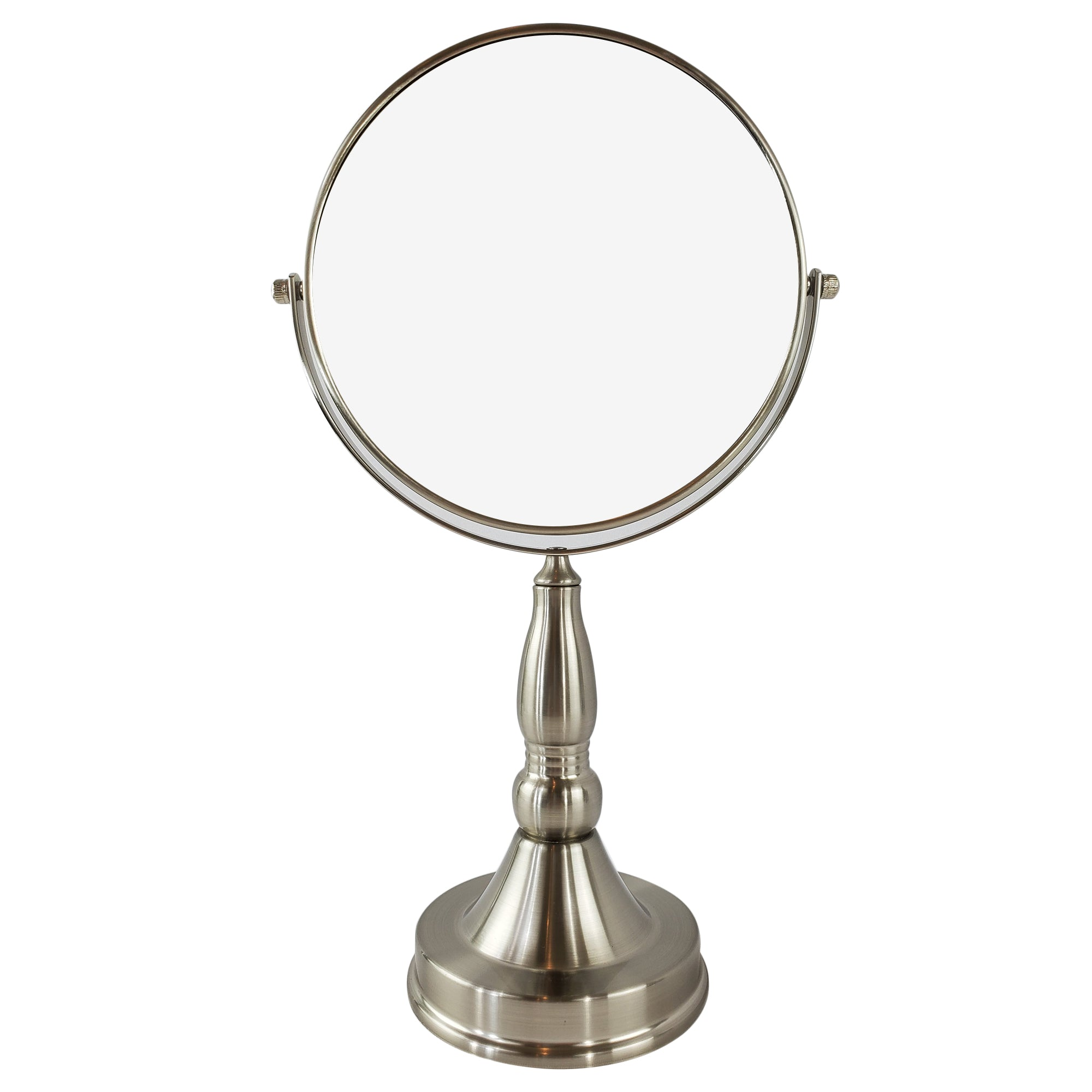 Magnifying Make Up Vanity Mirror With Satin Nickel Plated Finish