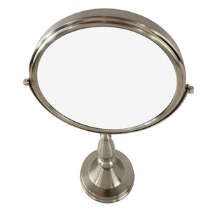 Magnifying Make Up Vanity Mirror With Satin Nickel Plated Finish (M922)