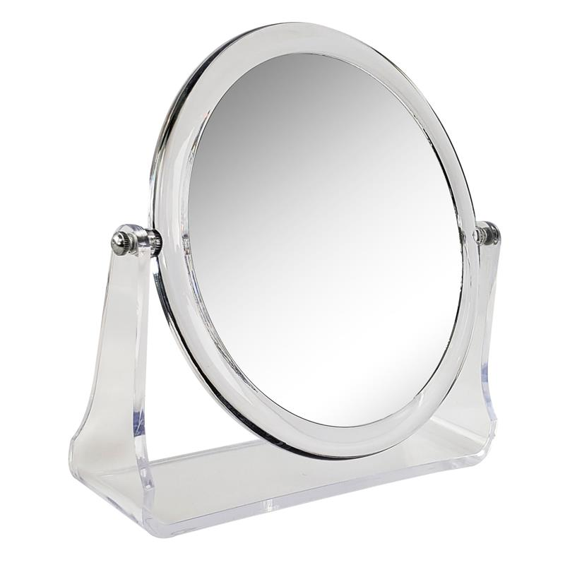 Acrylic Magnifying Table Top Makeup Mirror (M938)