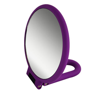 Rucci Soft Touch Magnifying Hand Mirror