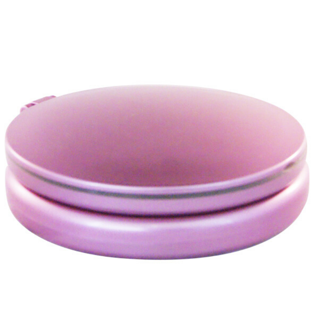 Lighted And Foldable Pink Travel Mirror (M958)