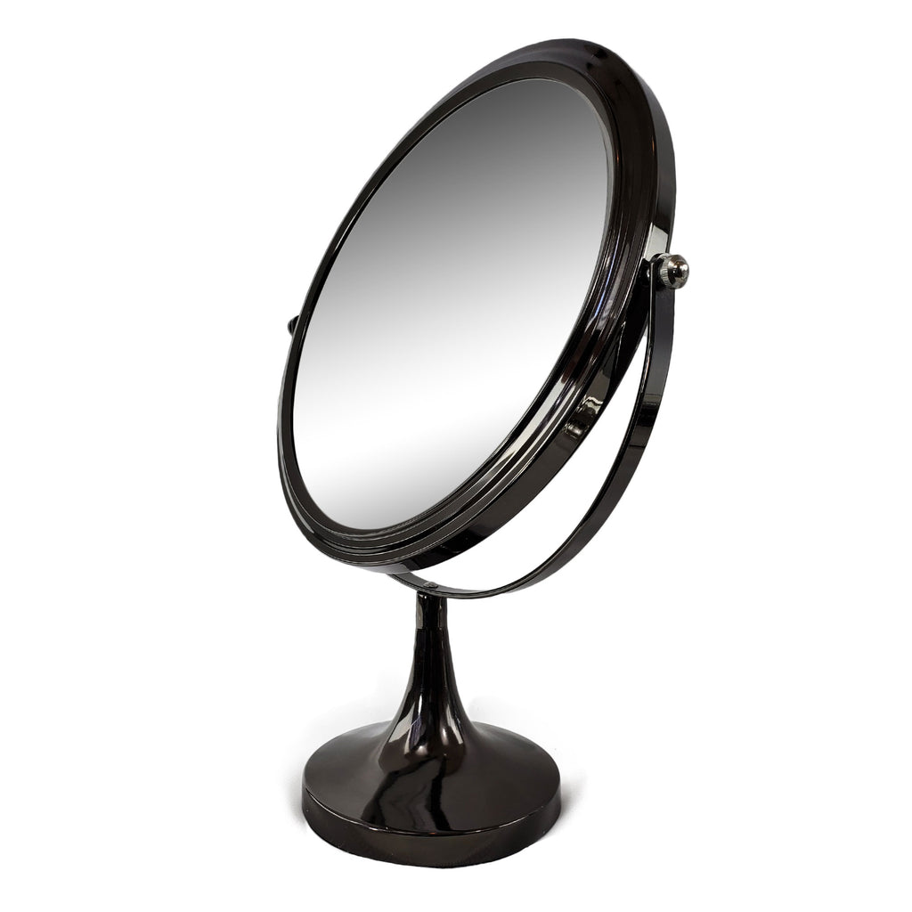 Classy Make Up Magnifying Mirror Gun Metal Finish (M966/GM)