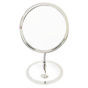 Rucci Double Sided Gooseneck Vanity Mirror 10X Magnification (M977)