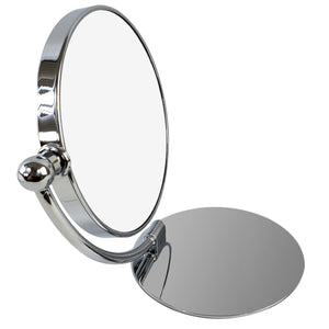 Makeup Vanity Swing Mirror 7X Magnification Chrome Finish (M994)