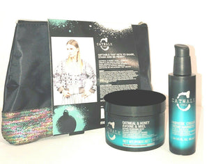 TIGI Catwalk Holiday Hair Remedy Gift Set, Oatmeal & Honey Mask + Hairista Cream(611383)