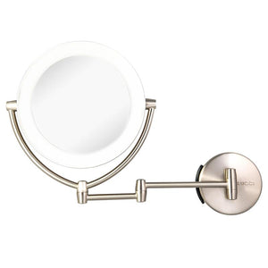 Rucci Modern Lighted Magnifying Makeup Mirror