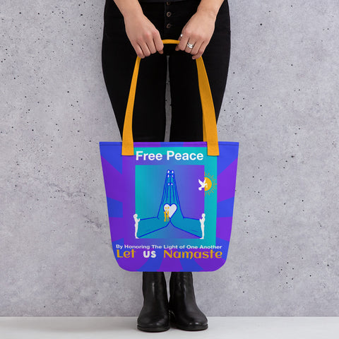 Free Peace Tote bag