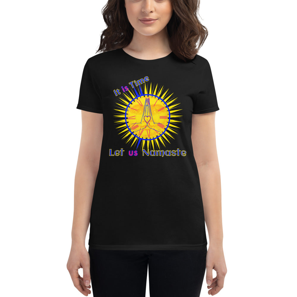 It is Time - Women's short sleeve t-shirt