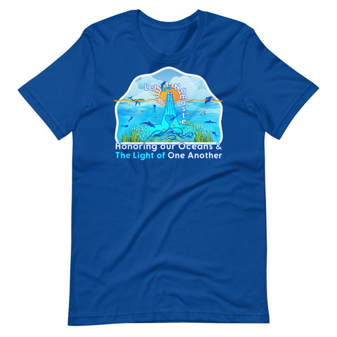Honoring Our Oceans Short-Sleeve Unisex T-Shirt