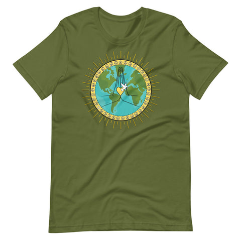 Peace Dove Short-Sleeve Unisex T-Shirt
