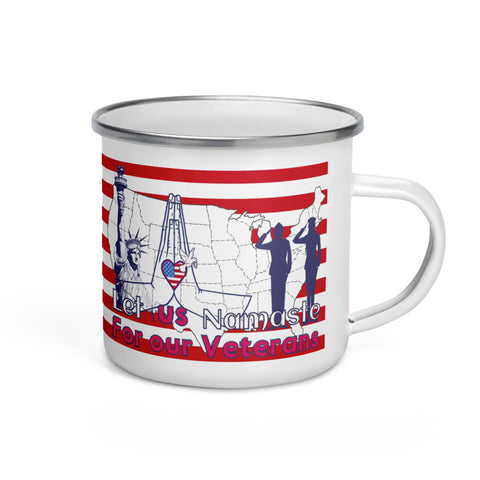 Let us Namaste for our Veterans Travel Mug