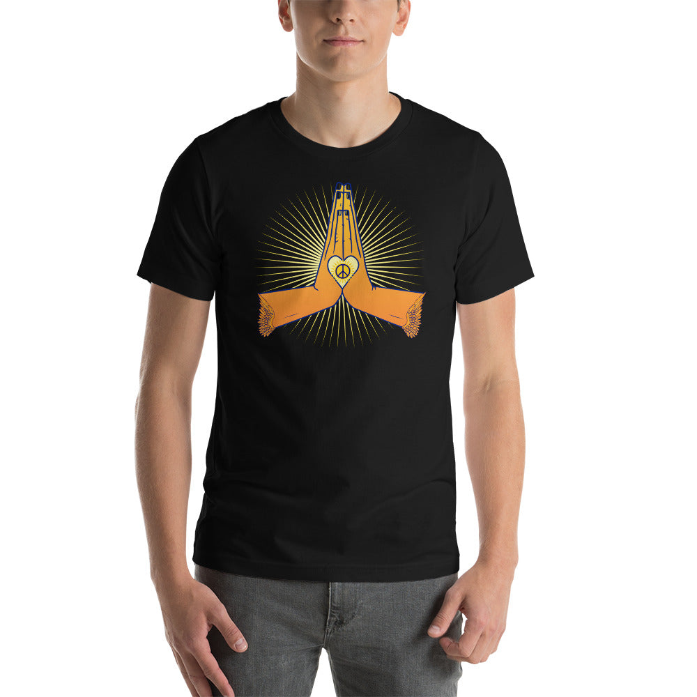 Namaste Wings Short-Sleeve Unisex T-Shirt