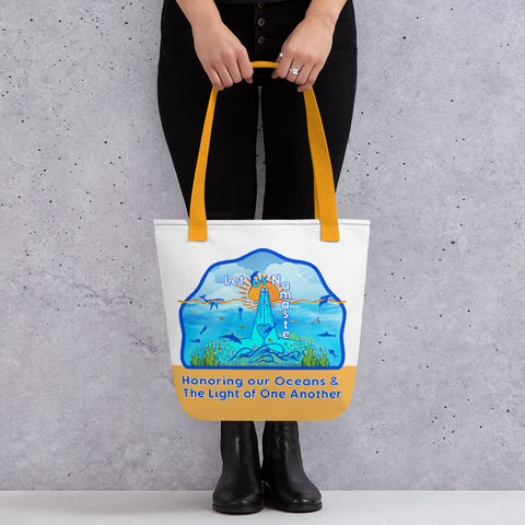 Honoring our Oceans Tote bag