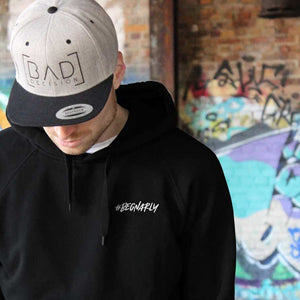 Hoody - Be Gnarly - black