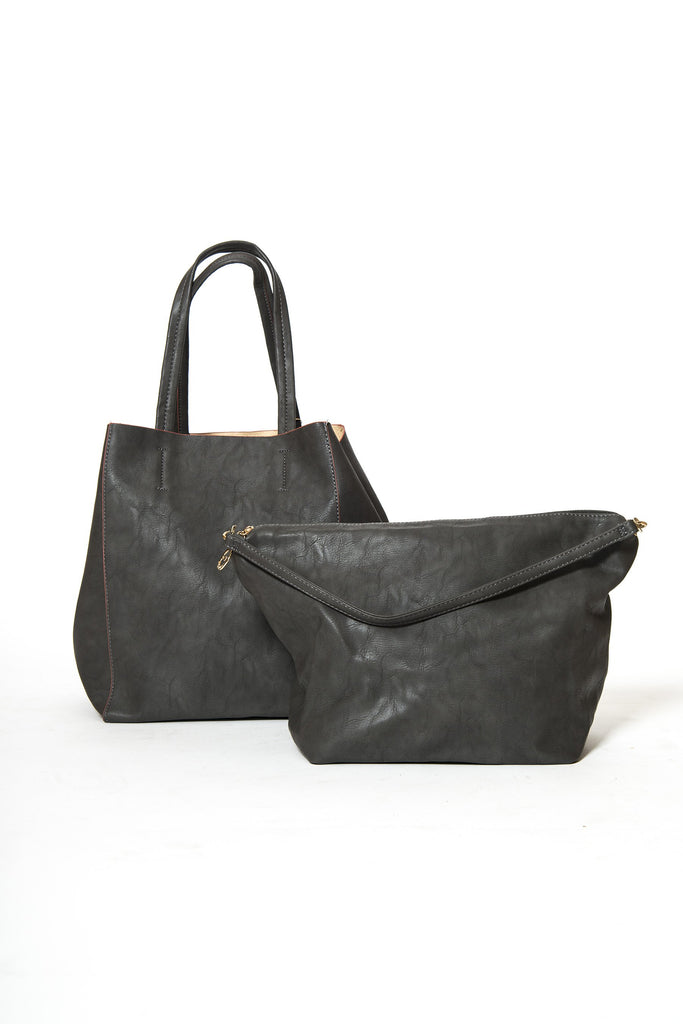 Elliot Vegan Leather Tote Bag