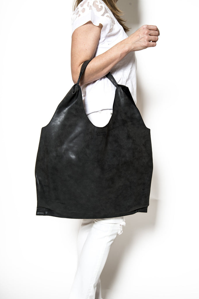 Vegan Leather Hobo Bag